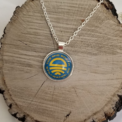 Mid South Silver Necklace
