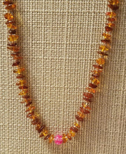 Handmade Amber Teething Necklace