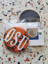 OSU floral Pin/Magnet