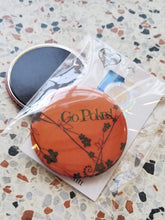 Go Pokes! Floral Pin/Magnet