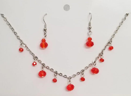 Dark Orange Crystal Set