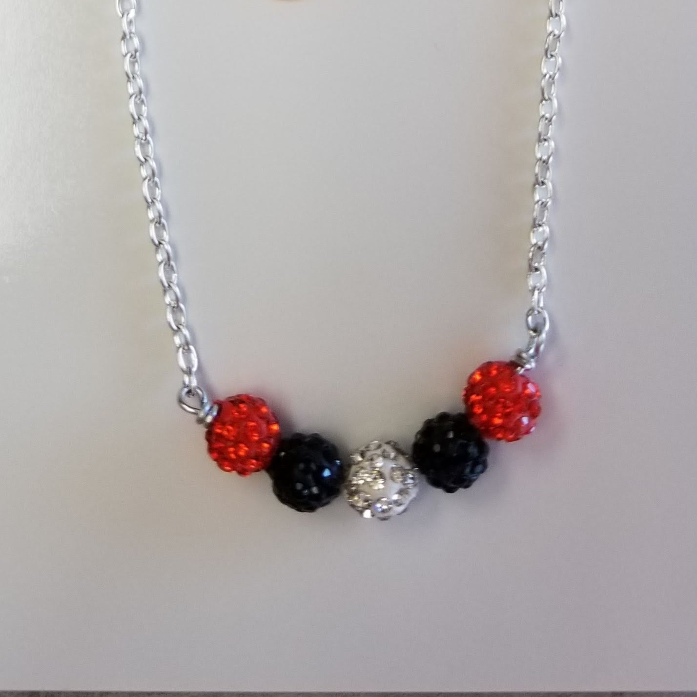 OSU Shamballa Necklace