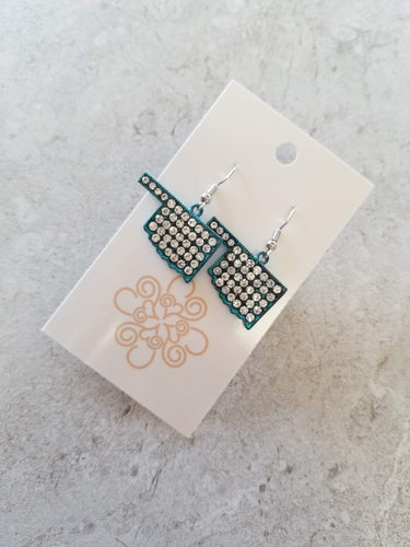 Sparkle Oklahoma Earrings