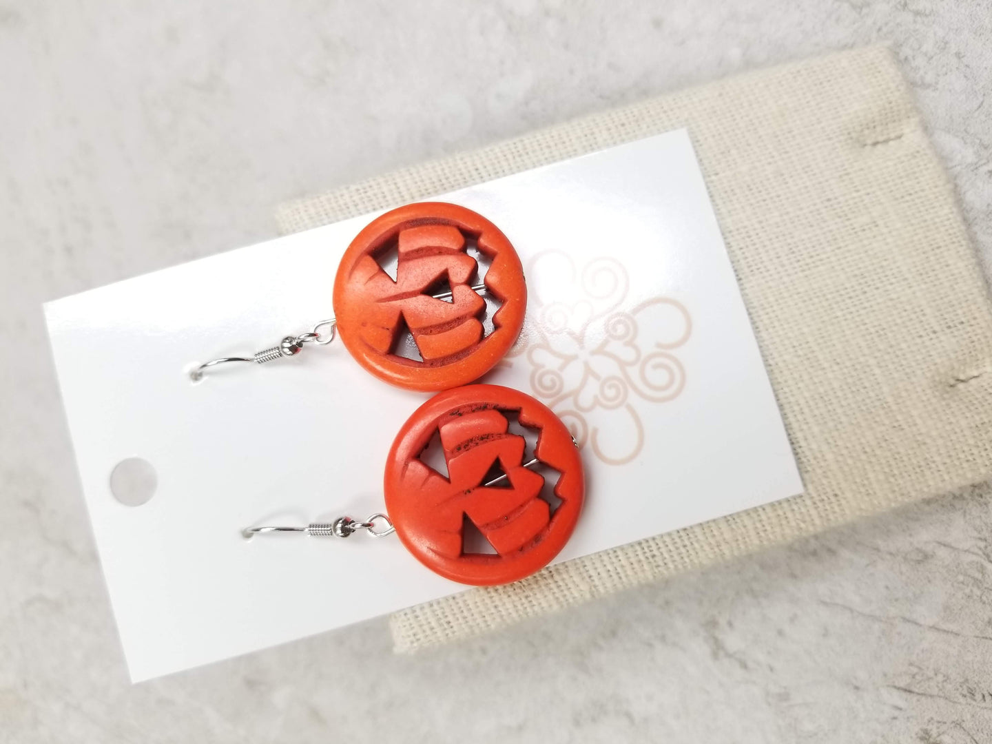 Jack-O Lantern Earrings
