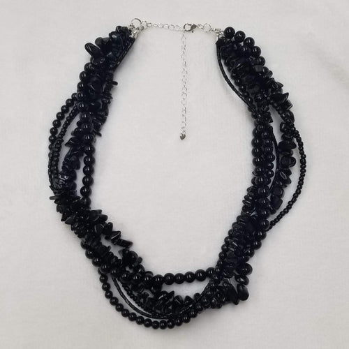 Beaded Twist Necklace