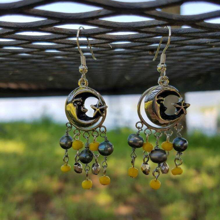 Moon Light Earrings