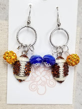 Football Charm Earrings