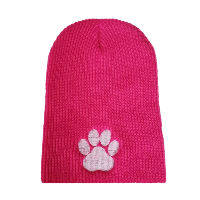 Pitbull Tough Beanie Hat - Pink