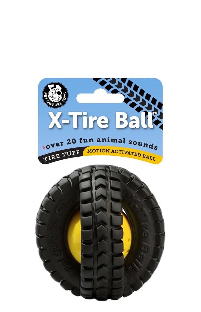 X-Tire Ball Dog Toy