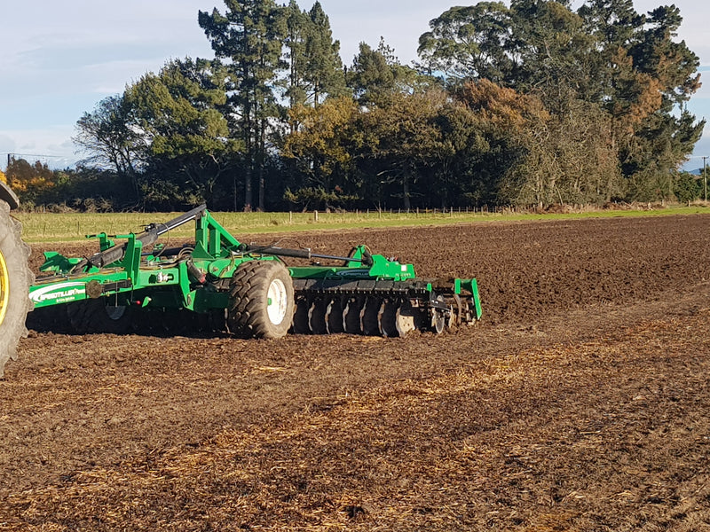 K-Line 6.25m Speedtiller Powerflex Speed Disc Working in North Canterbury