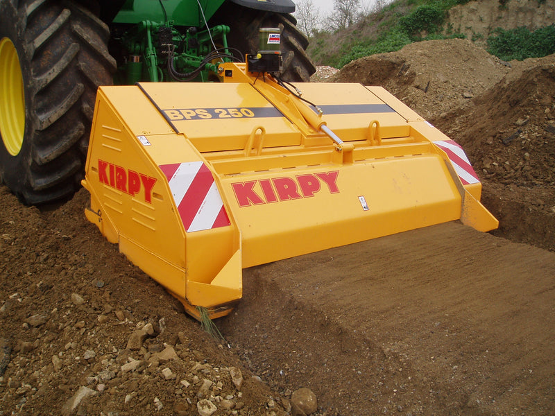Transforming the Land With the Kirpy Stone Crusher