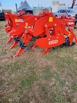 Vigolo 950 Heavy Duty Subsoiler with Spikey Rollers | Agriline NZ Cultivation Machinery