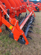 Vigolo Cracker Style Ripper with double spkied rollers | Agriline NZ Cultivation machinery