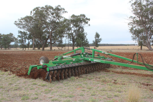 Trailed Speed Tiller with Folding Wings Speed Disc | Agriline NZ
