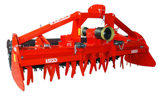 Vigolo DB Heavy Duty Power Harrow - Agriline Cultivation Equipment