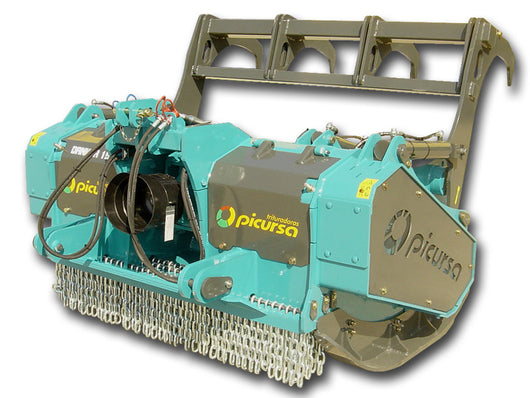 Picursa Danker Heavy Duty Fixed Tooth Forestry Mulcher | Agriline NZ