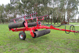Rata Heavy Duty Folding Breaker Ring Roller with Leveling boards | Agriline NZ Cultivation Machinery