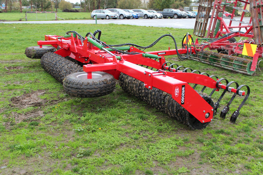 Rata Heavy Duty Folding Breaker Ring Roller | Agriline NZ Cultivation Machinery