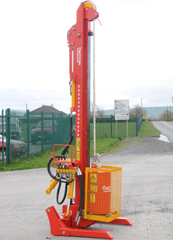 Vector Powerdrive Side-tilt post rammer | Agriline NZ