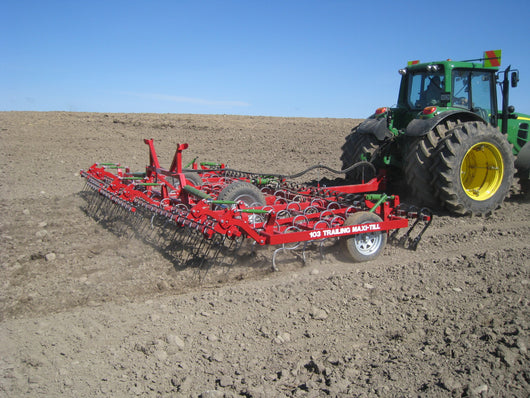 Rata 103 Trailing Heavy Duty Folding Spring Tine Maxi Till | Agriline NZ Cultivation Specialists