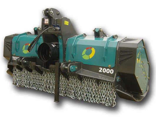 Picursa Heavy Duty Fixed Tooth Forestry Mulcher