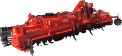 Vigolo DVG Heavy duty folding Rotary hoe 500HP Rated | Agriline NZ