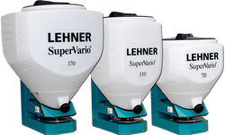 Lehner 12V Spreaders for slug bait or over-sowing etc