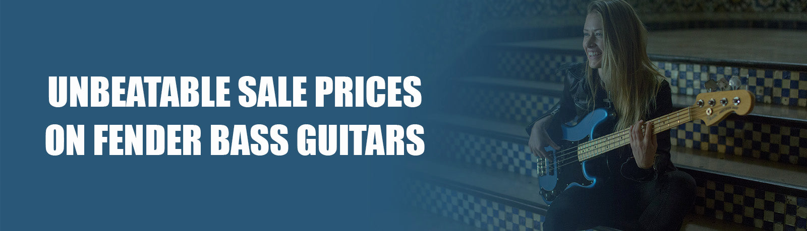 Fender Bass Guitars On Sale - Fender Jazz, Fender Precision