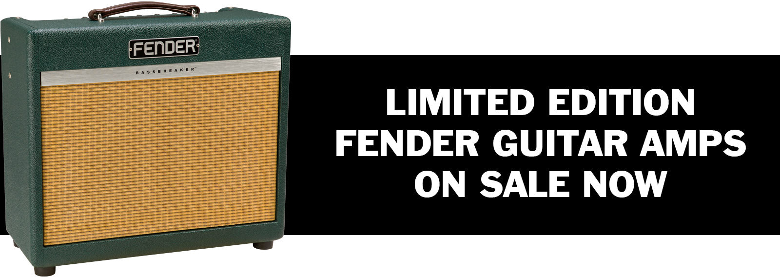Limited Edition and FSR Fender Amplifiers