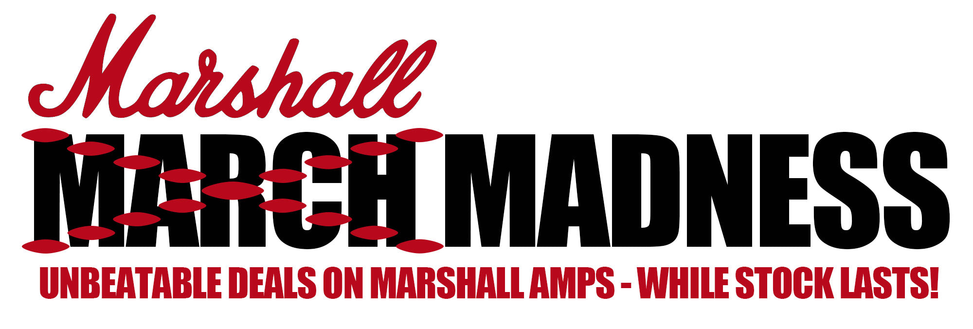 Marshall Amps - Guitar amplifiers on sale