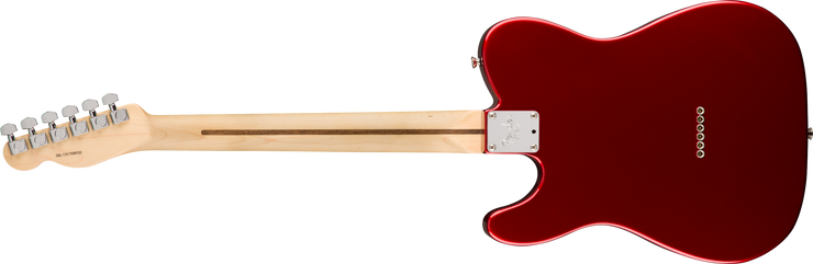 Back of Fender American Professional Telecaster - Candy Apple Red