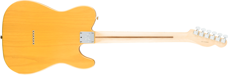 Back pic Fender American Professional Telecaster - Butterscotch Blonde, Left Handed