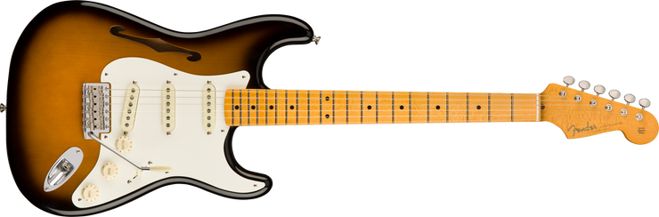 Fender Eric Johnson Stratocaster Thinline - 2-Colour Sunburst