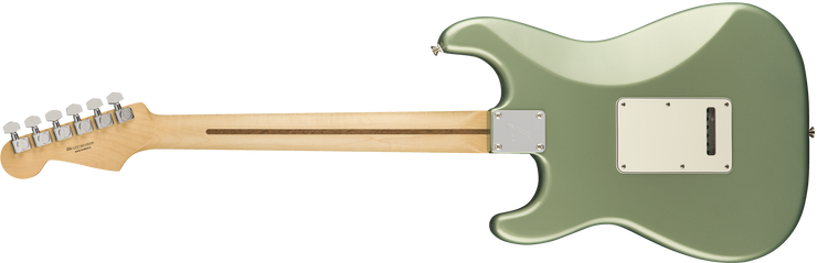Back of Fender Player Stratocaster - Sage Green Metallic PF