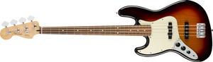 Fender Player Jazz Bass - 3-Colour Sunburst, PF (Left Handed)