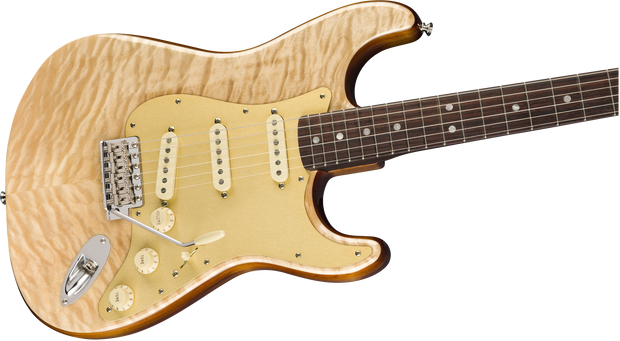 Fender Rarities Quilt Maple Top Stratocaster, Rosewood Neck - Natural