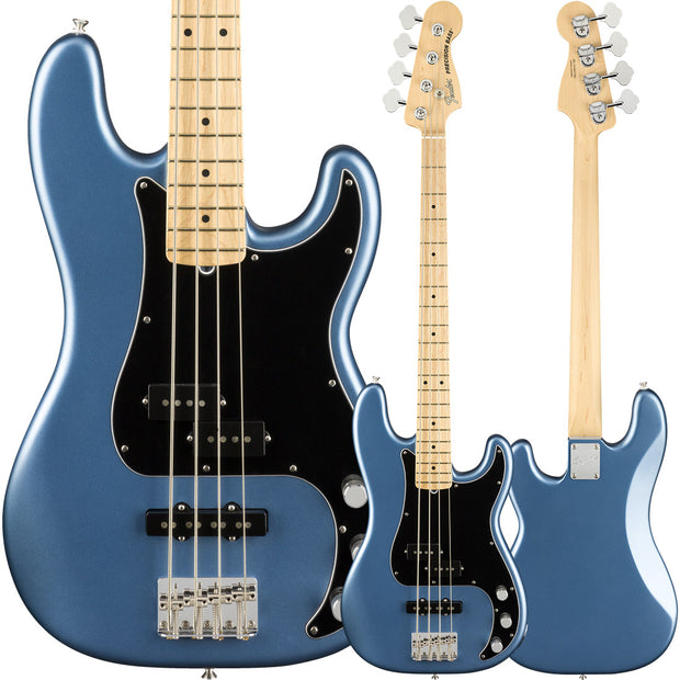 Fender American Performer Precision Bass - Satin Lake Placid Blue