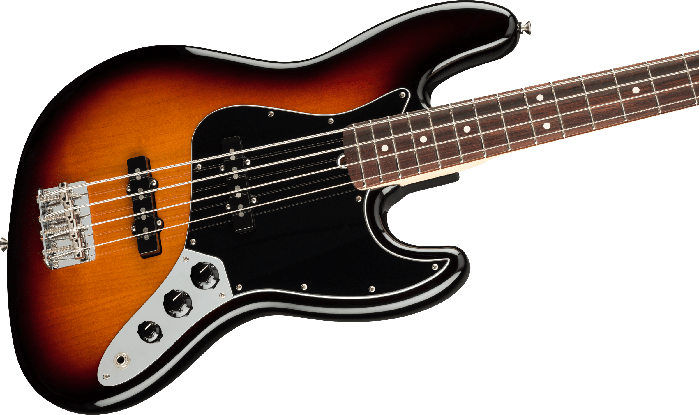 Fender American Performer Jazz Bass - 3-Color Sunburst, RW