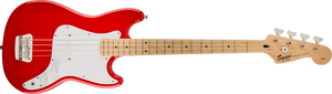 Squier Bronco Bass - Torino Red, MN