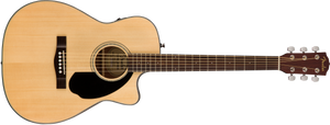 Fender CC-60SCE Concert Acoustic/Electric - Natural, WN