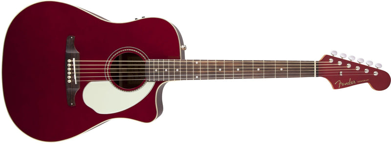 Fender Sonoran SCE Acoustic/Electric - Candy Apple Red - Guitar Station