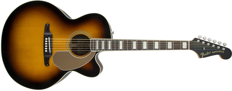 Fender Kingman Jumbo SCE Acoustic/Electric - 3-Colour Sunburst - Guitar Station
