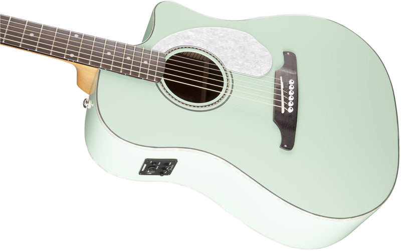 Fender Sonoran SCE Acoustic/Electric - Surf Green - Guitar Station