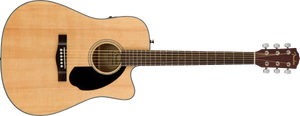 Fender CD-60SCE Acoustic/Electric - Natural, WN