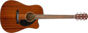 Fender CD-60SCE Acoustic/Electric - Mahogany, WN