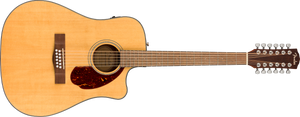 Fender CD-140SCE Acoustic/Electric 12-String - Natural, WN