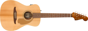 Fender Malibu Player Acoustic/Electric - Natural, WN