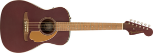 Fender Malibu Player Acoustic/Electric - Burgundy Satin, WN