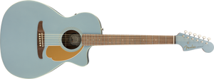 Fender Newporter Player Acoustic/Electric - Ice Blue Satin, WN