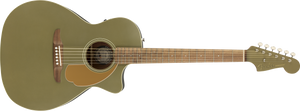 Fender Newporter Player Acoustic/Electric - Olive Satin, WN